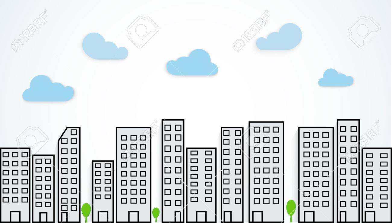 Urban landscape Stock Vector - 20353614