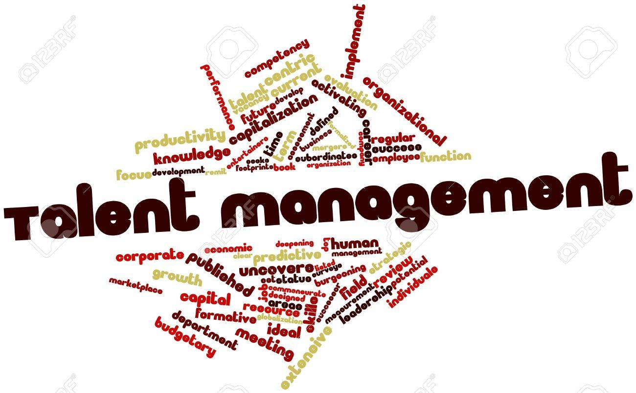 Abstract word cloud for Talent management with related tags and terms Stock Photo - 15995681