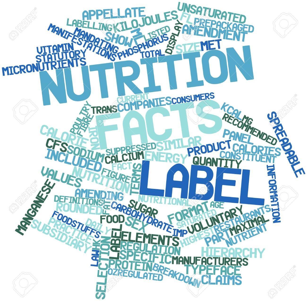 que quiere decir nutrition facts en español