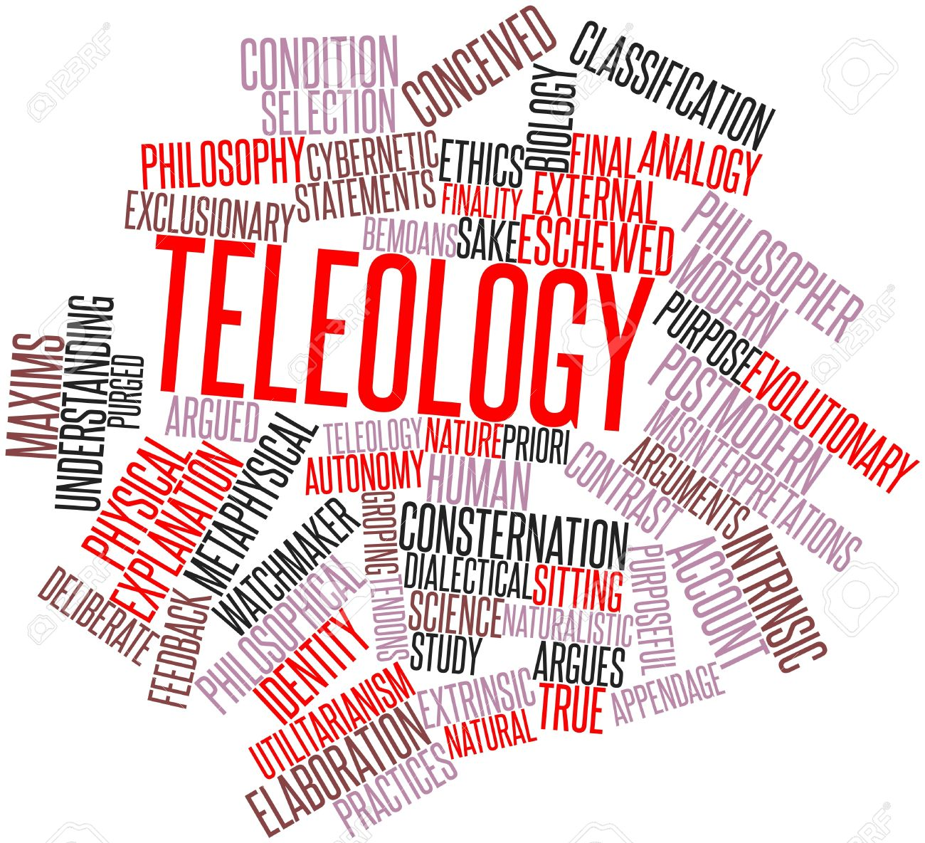 essay on teleology The difference bewtween deontological and teleogical theories is that teleogical theories are the outcome of your actions and deontological is the actions that you perform.