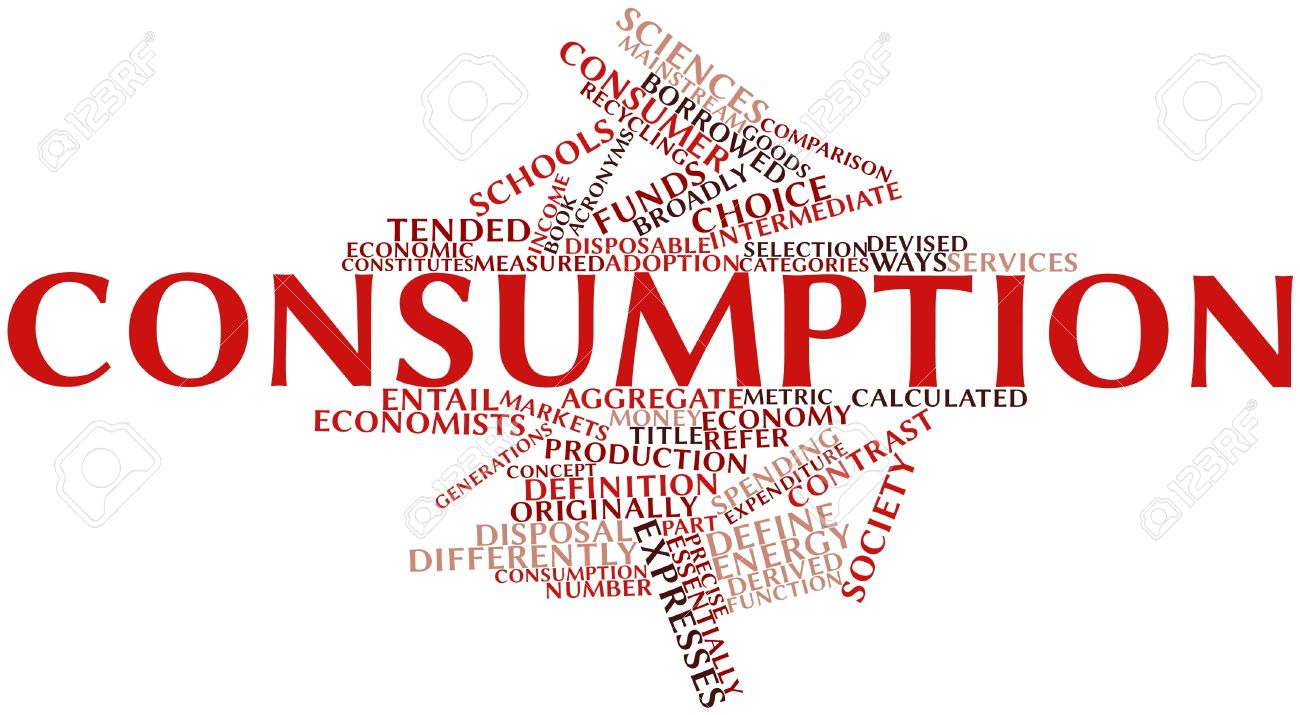 abstract word cloud for consumption with related tags and terms