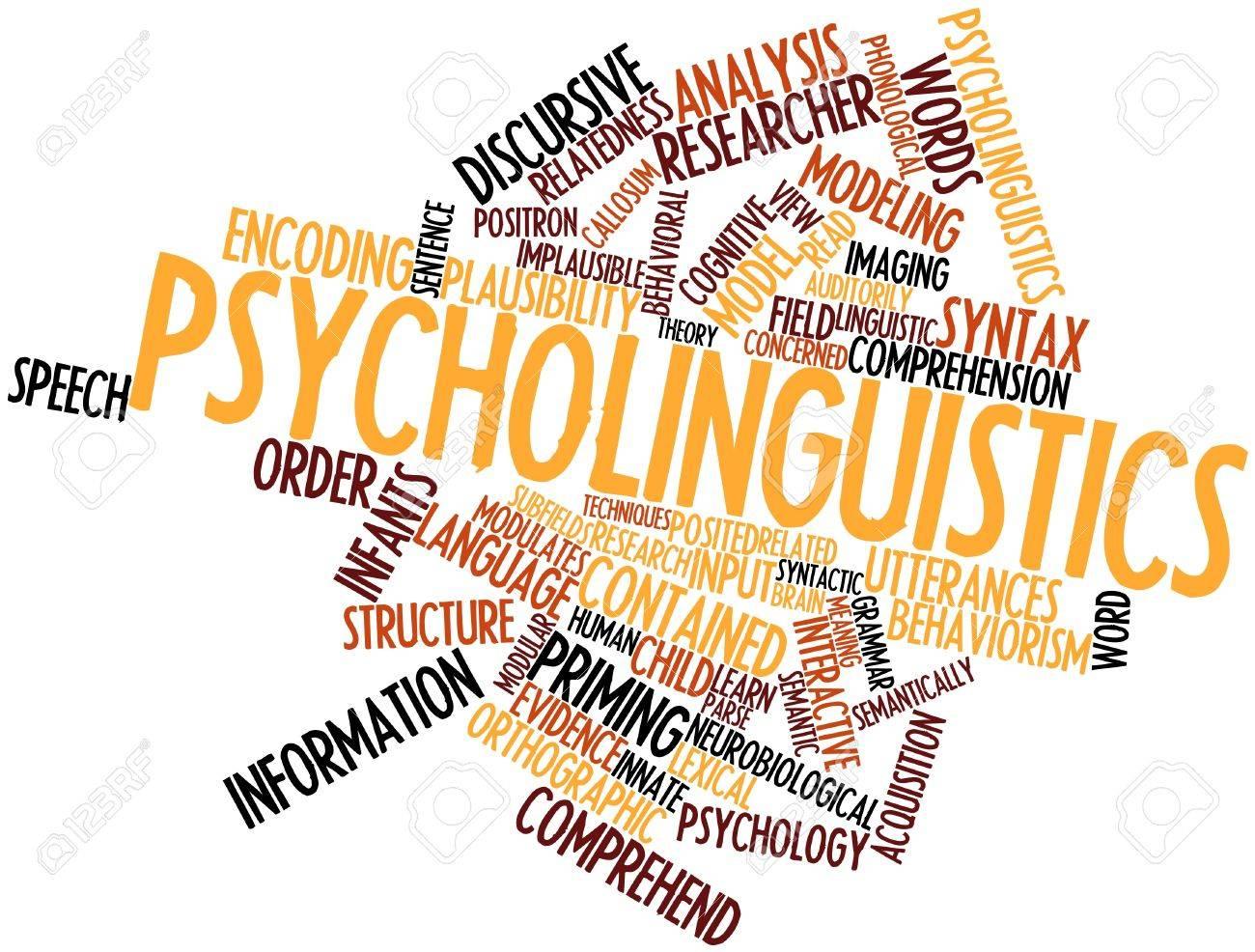 関連するタグと用語と心理言語学...
