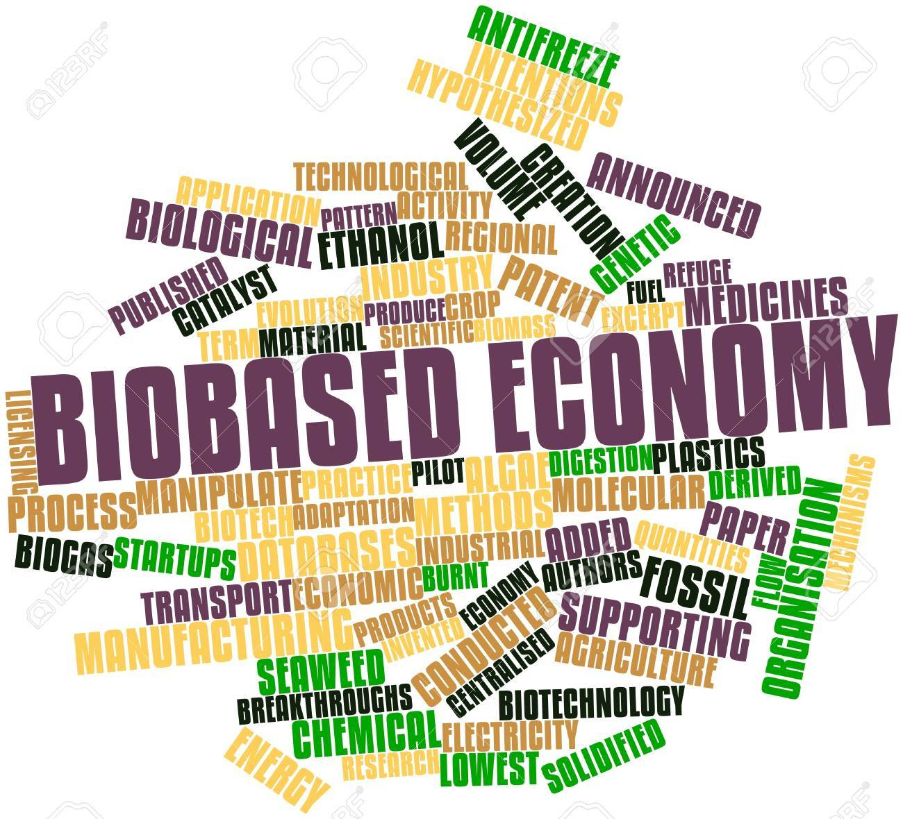 Abstract word cloud for Biobased economy with related tags and terms Stock Photo - 16678798