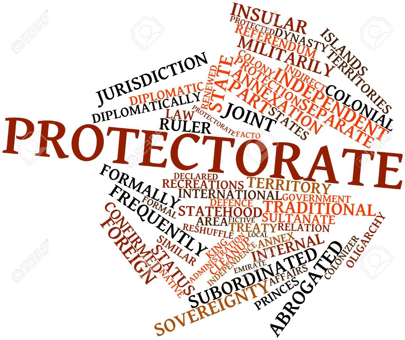 関連するタグと用語保護国の抽象...