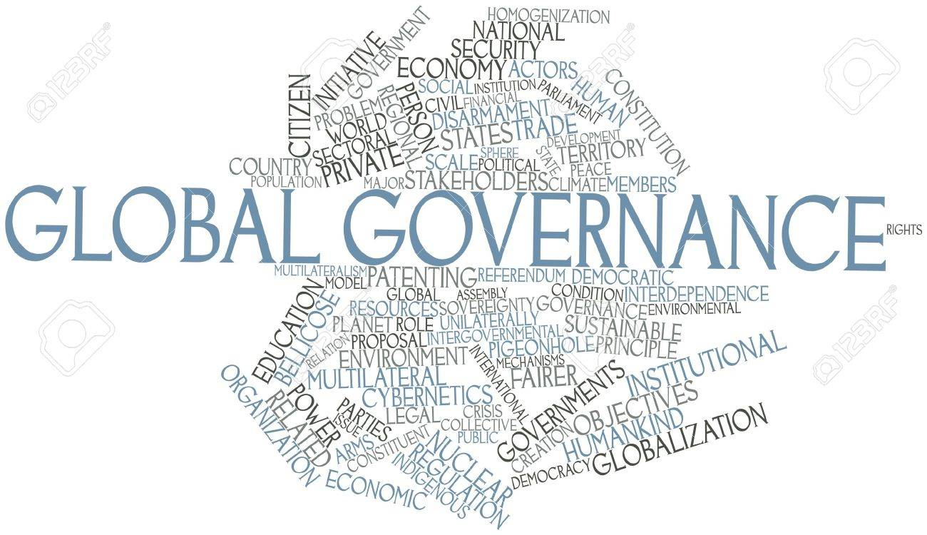 Abstract word cloud for Global governance with related tags and terms Stock Photo - 17141793