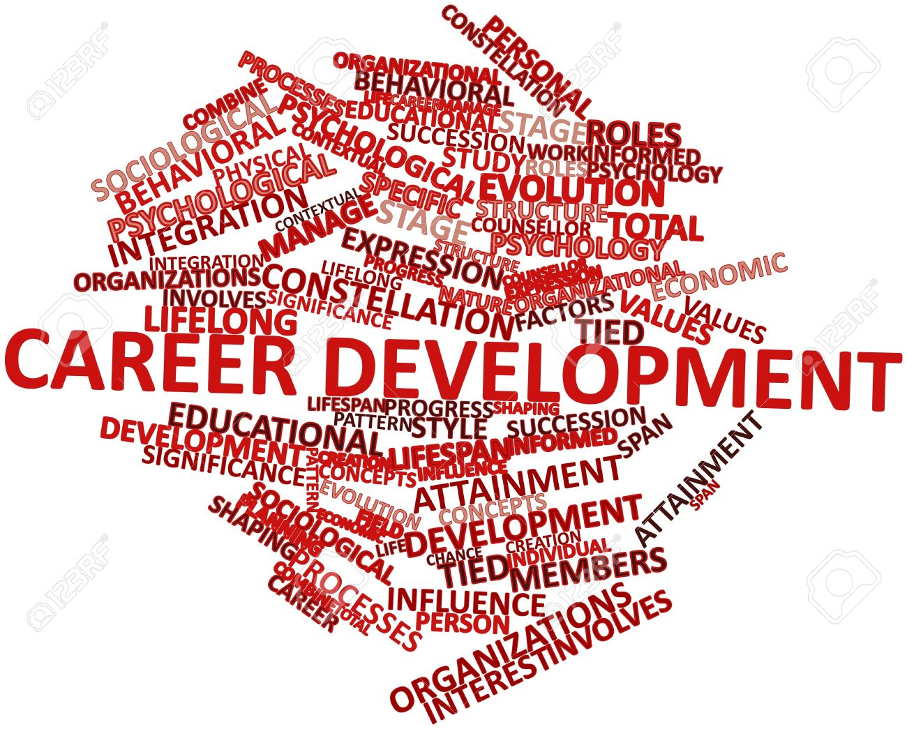 abstract word cloud for career development related tags abstract word cloud for career development related tags and terms stock photo 17149256