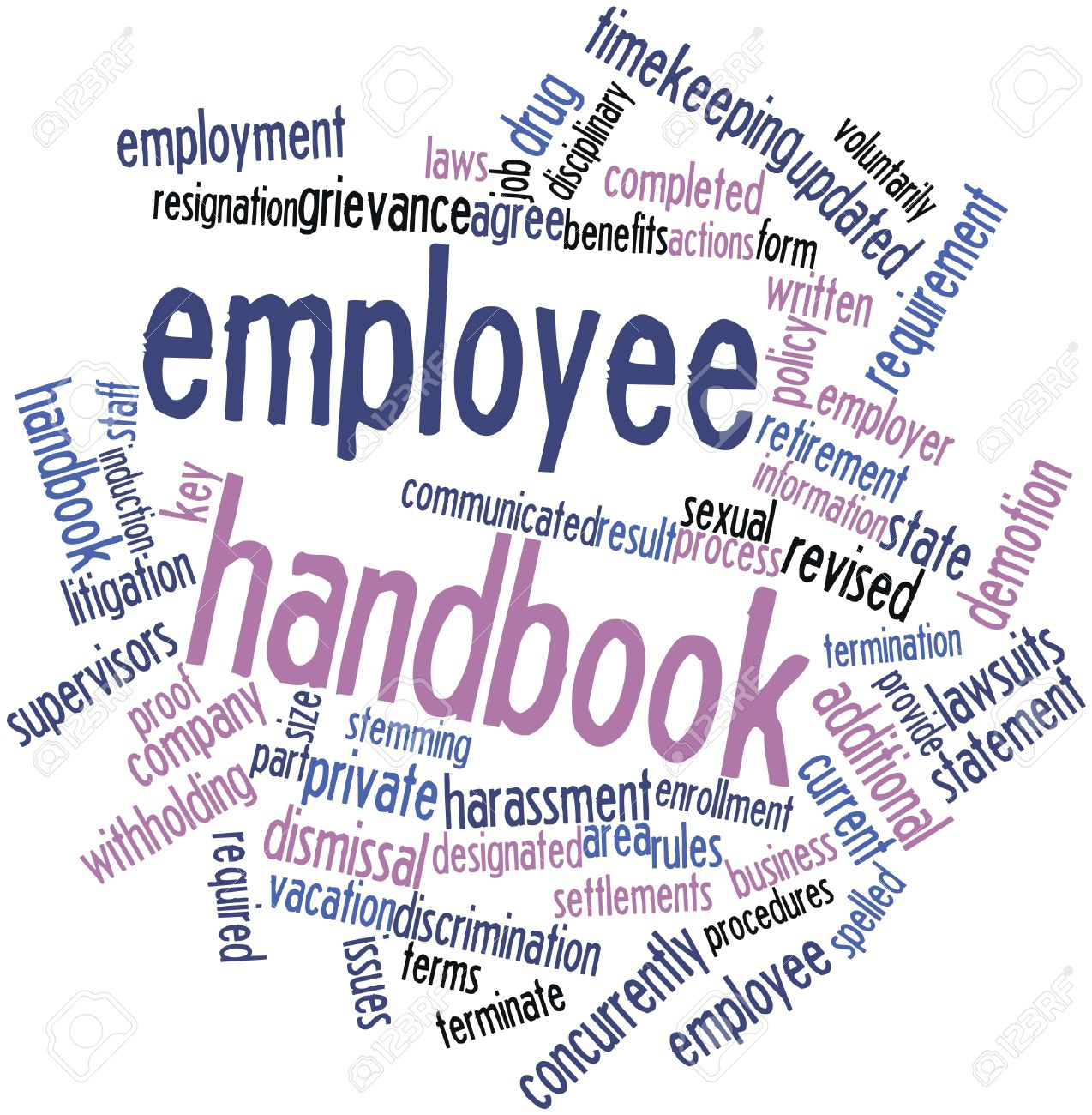 for Employee handbook with