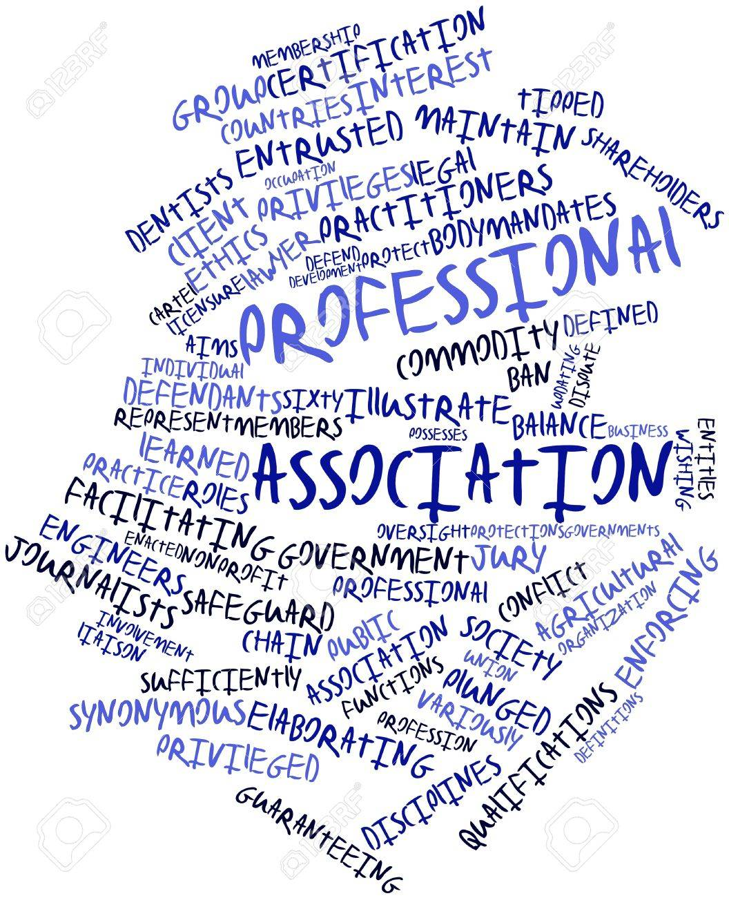 abstract word cloud for professional association related abstract word cloud for professional association related tags and terms stock photo 17197917