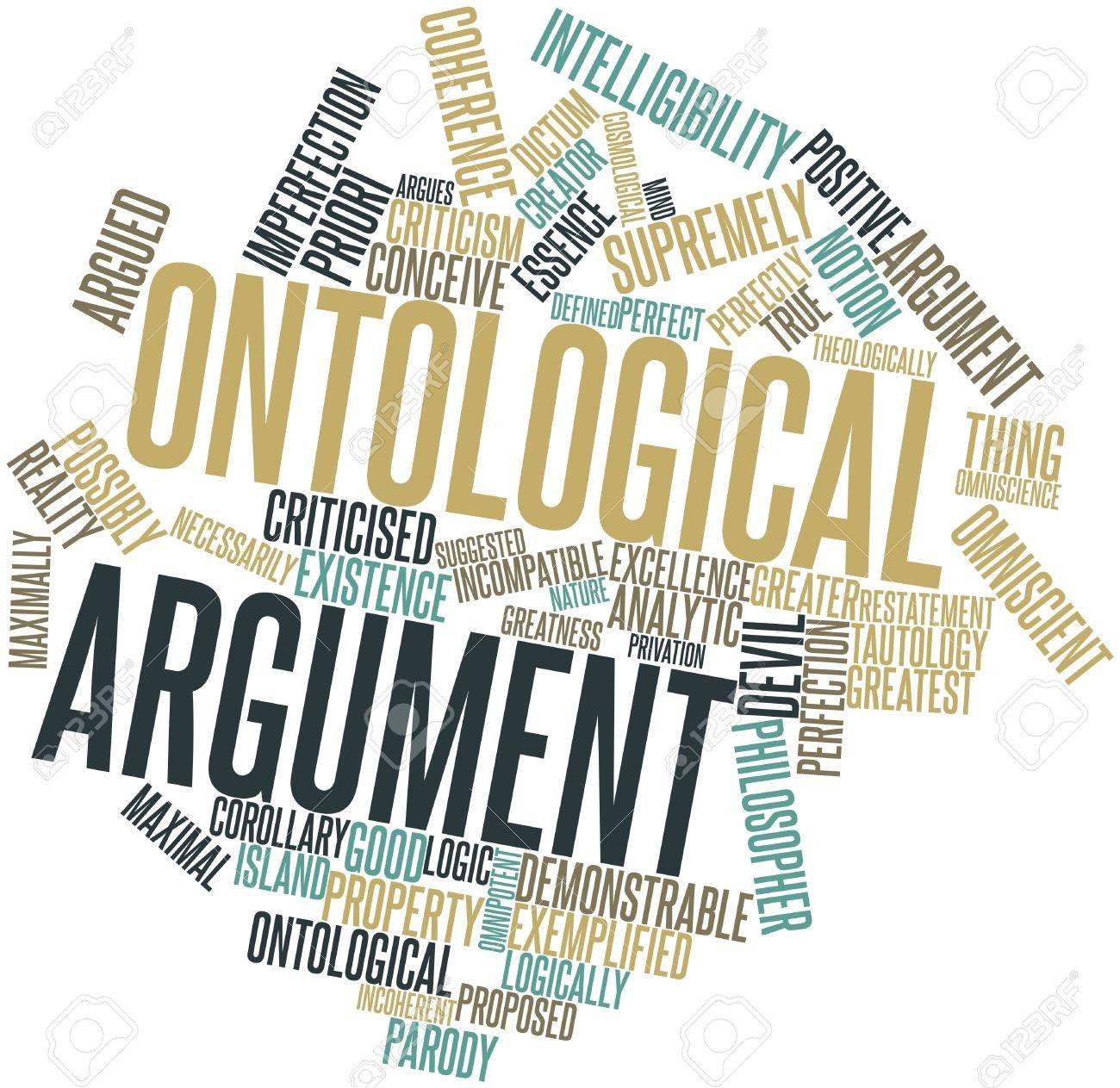 Resultat d'imatges de argumento ontológico