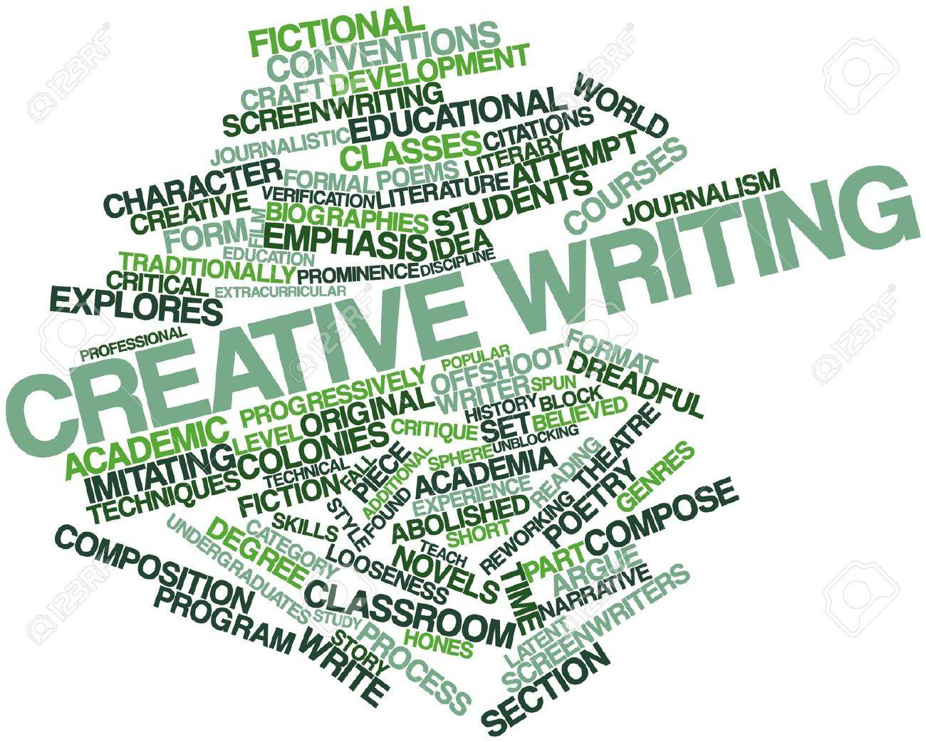 Creative writing images
