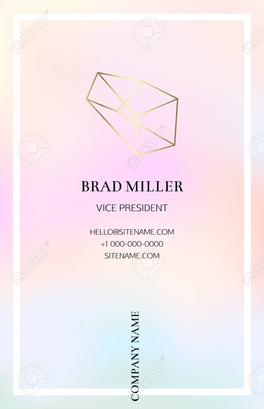 Pink vaporwave business card with a gold crystal logo gold pink vaporwave business card with a gold crystal logo gold polygonal shape corporate identity magicingreecefo Choice Image