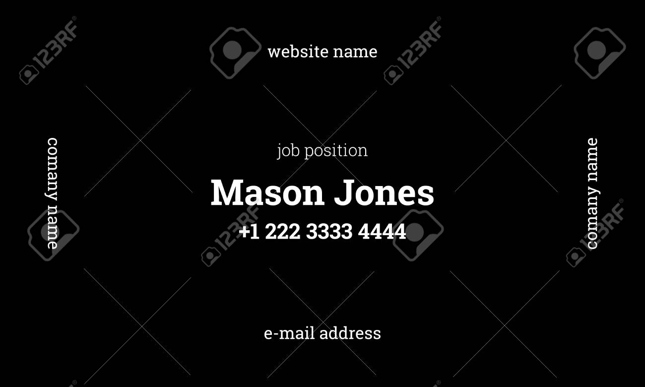 Cute Standard Us Business Card Size Images - Business Card Ideas ...