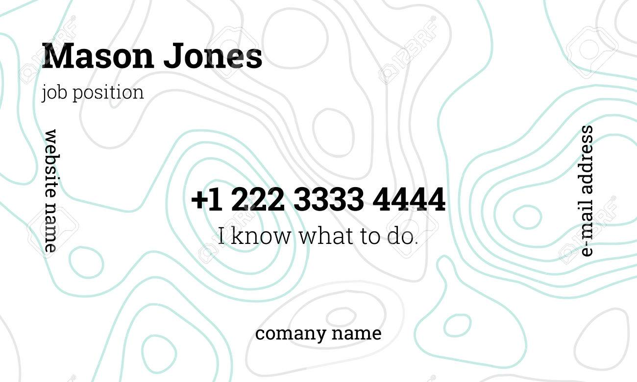Standard Business Card Size Us Gallery - Business Card Template