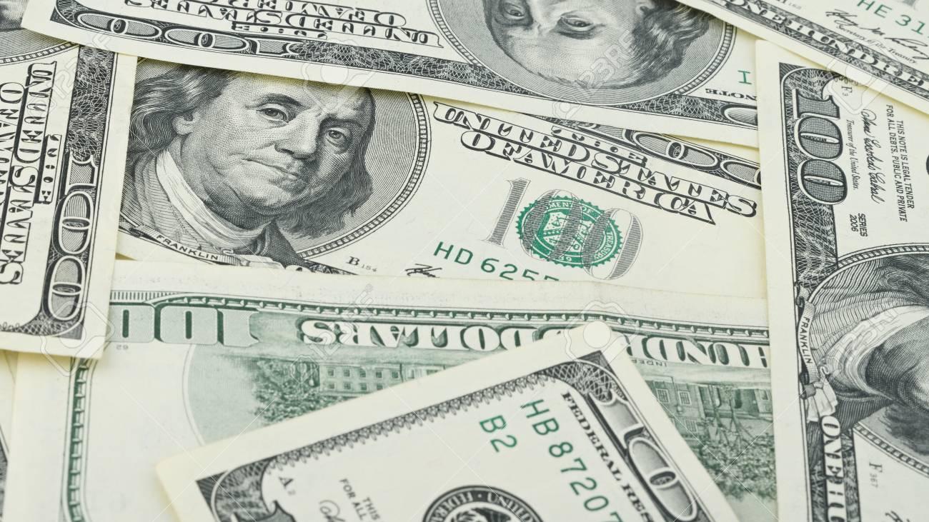 Wallpaper Background Closeup American Money Hundred Dollar Bill