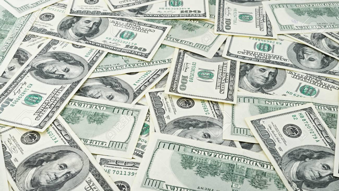 Wallpaper Background American Money Hundred Dollar Bill Many