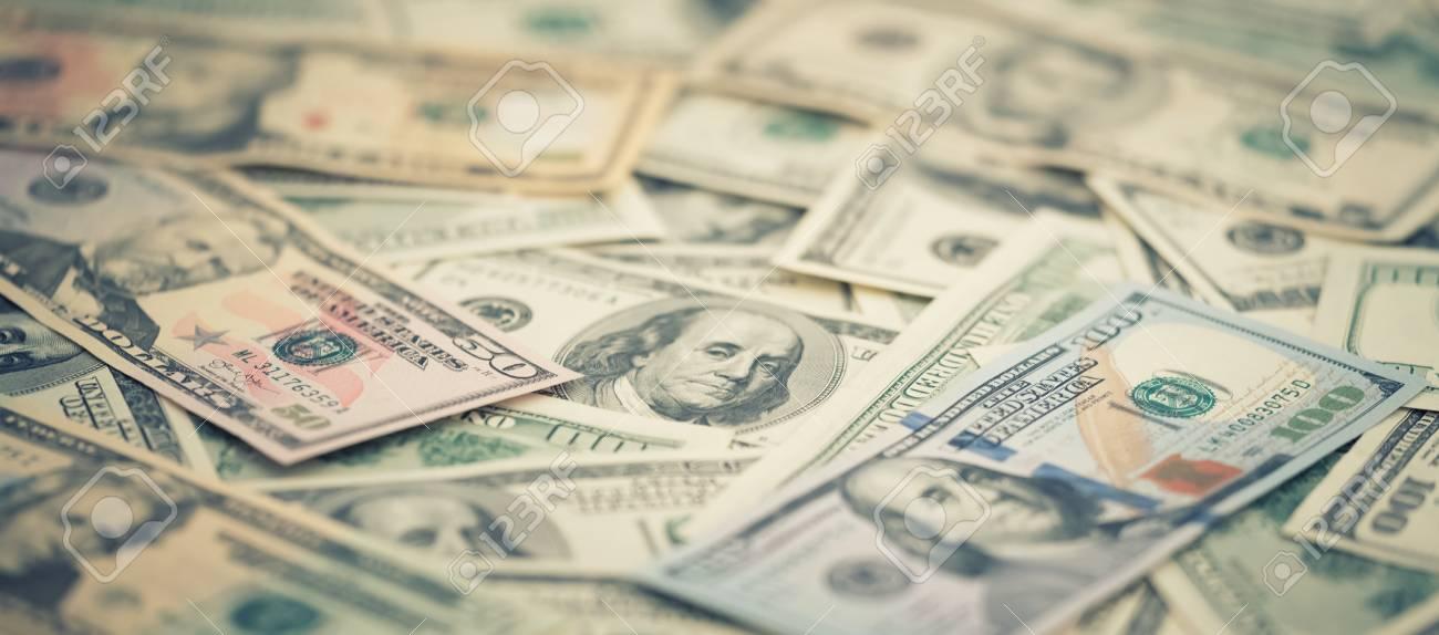 Wallpaper Closeup Series American Money 5 10 20 50 New 100