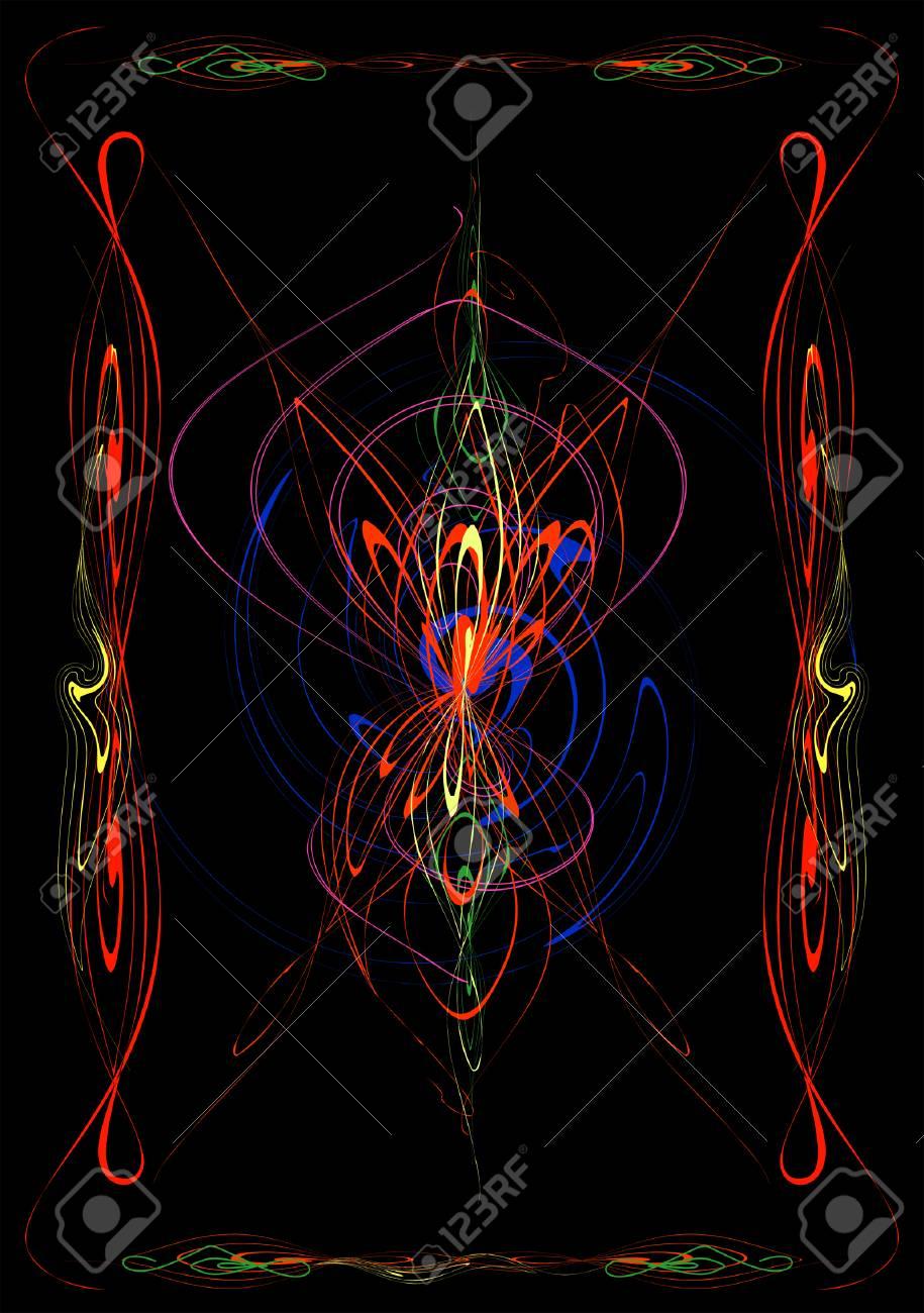 An abstract composition. Stock Vector - 3345287
