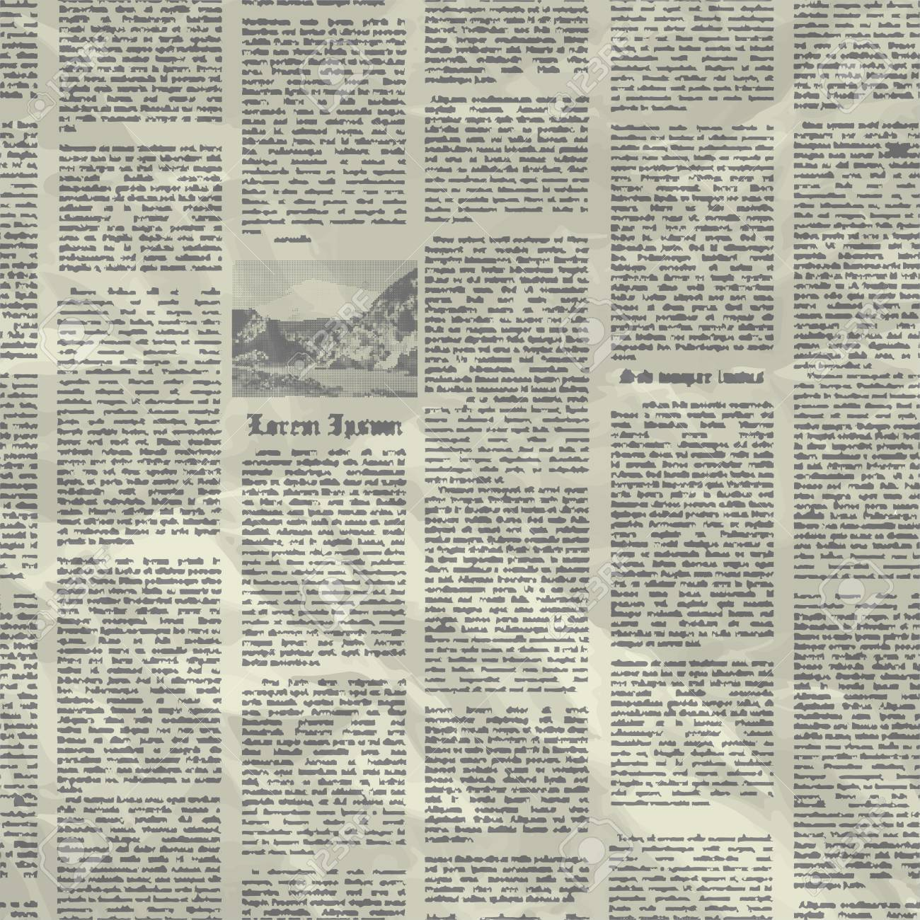 vector old newspaper background texture. can be used for wallpaper