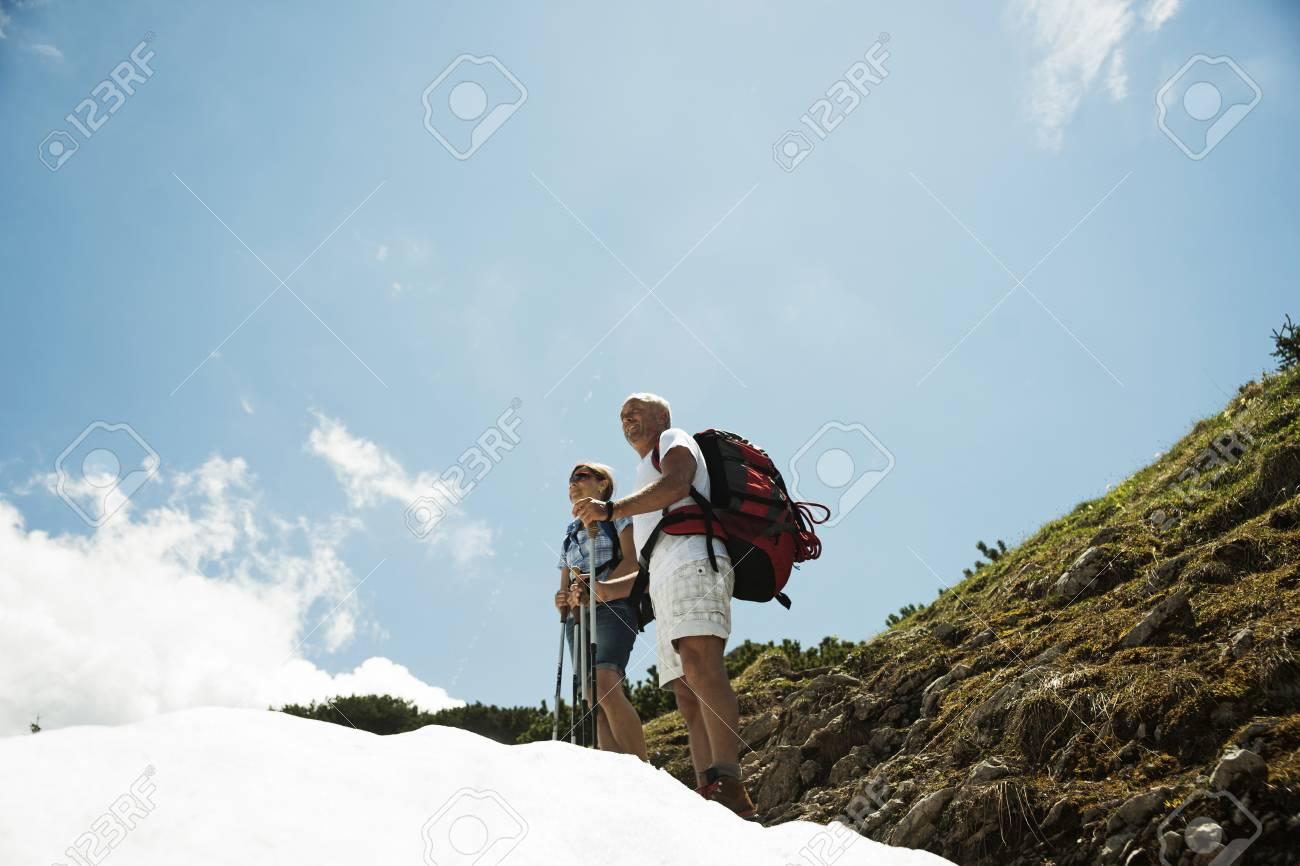 Mature couple from Austria
