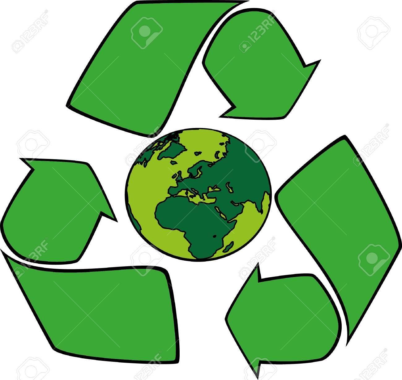 eco friendly globe Stock Vector - 13342558
