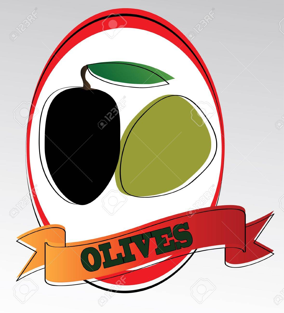 olives Stock Vector - 13351977