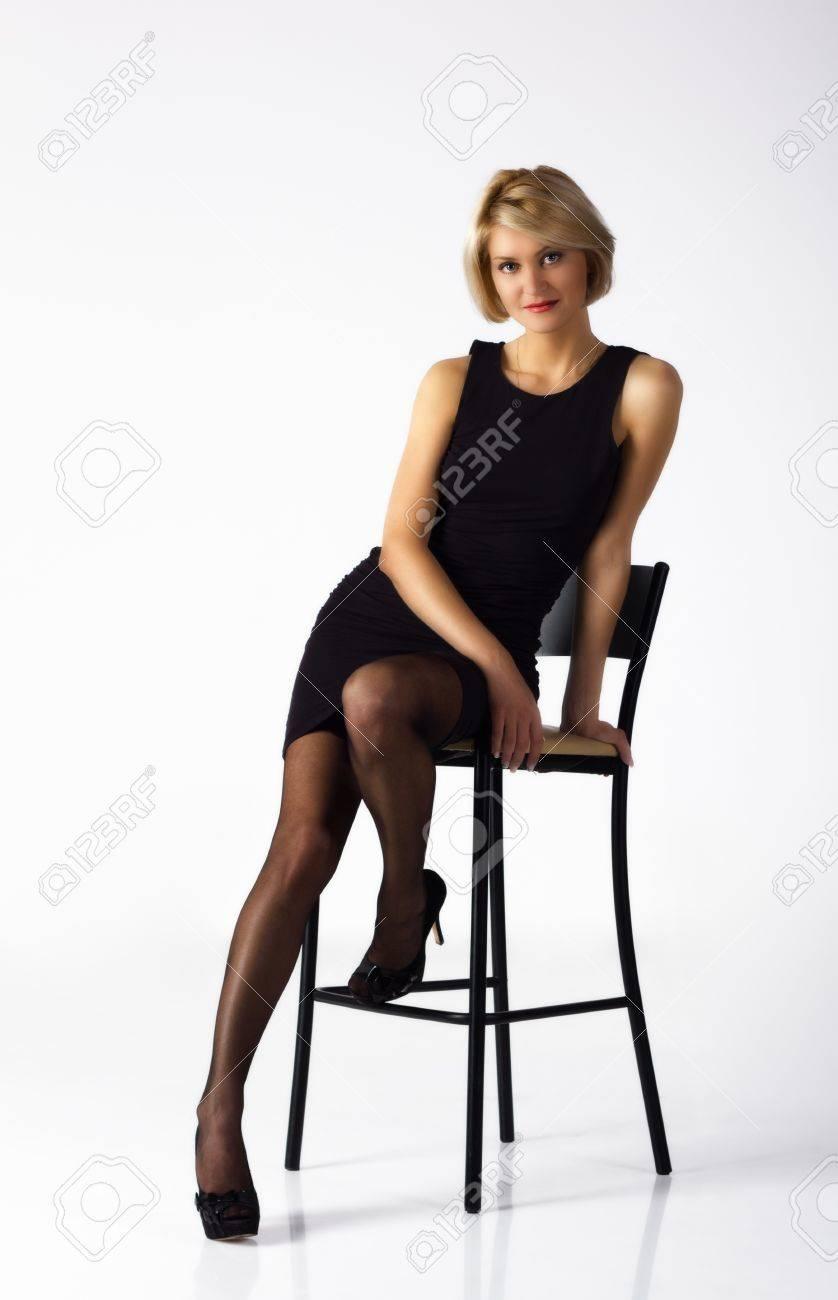 Posing In Stockings