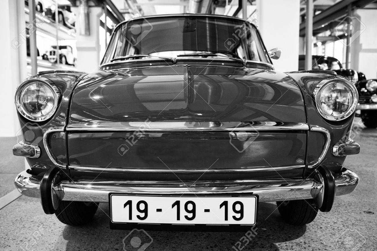 Skoda Auto Museum In Mlada Boleslav. Automobile Museum Presents ...