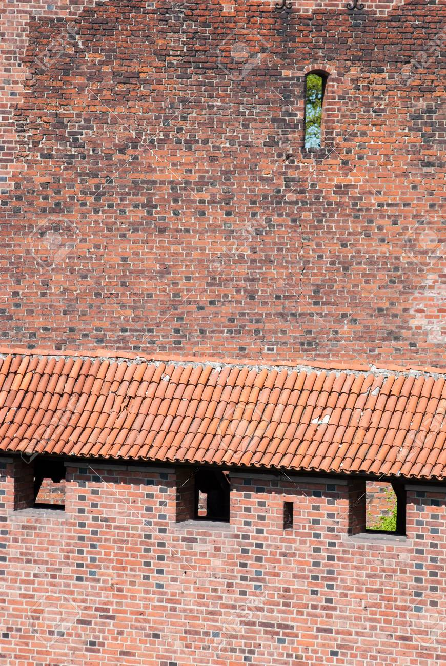 Brick Roof Texture old bricks and roof tiles texture stock photo, picture and royalty