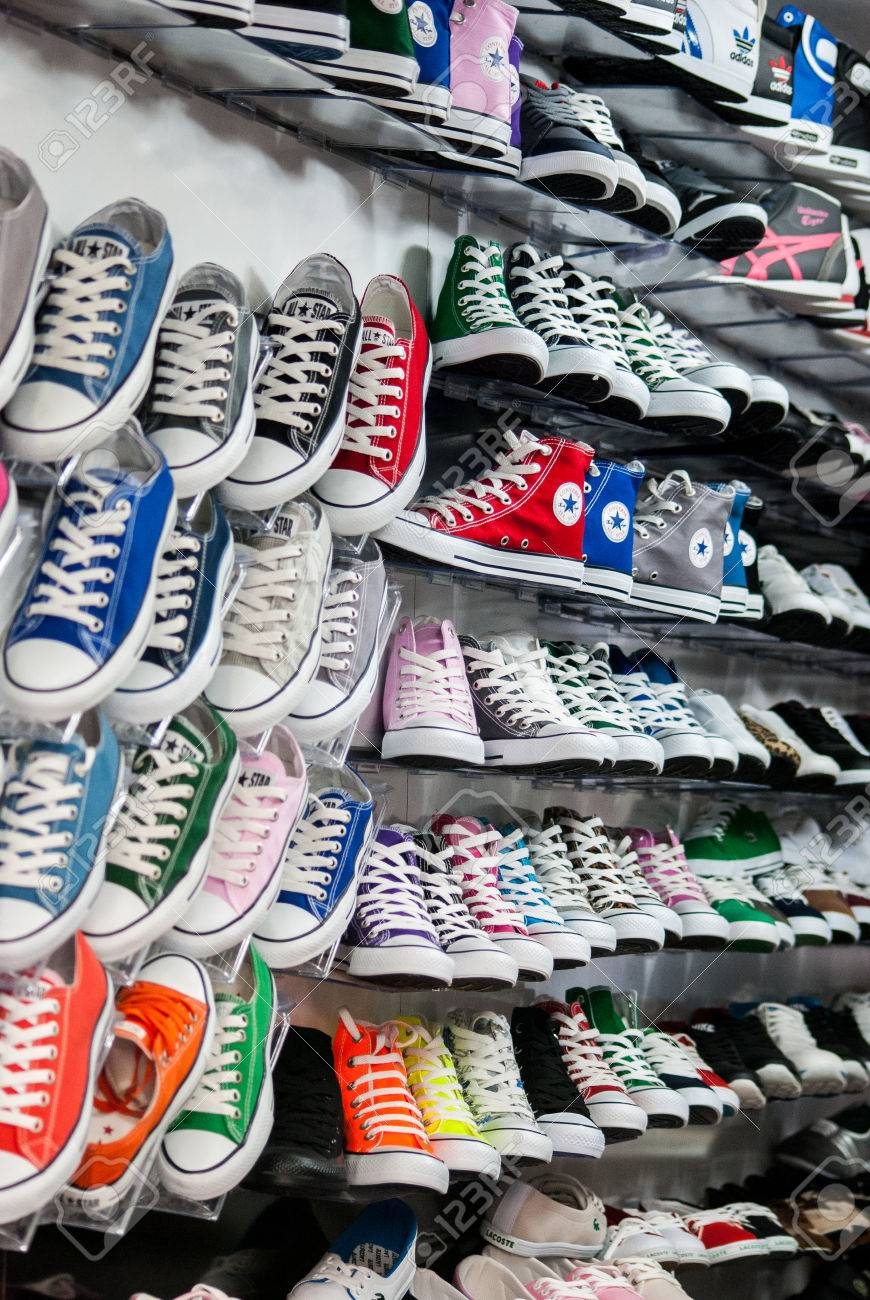 Converse all star type shoes in store