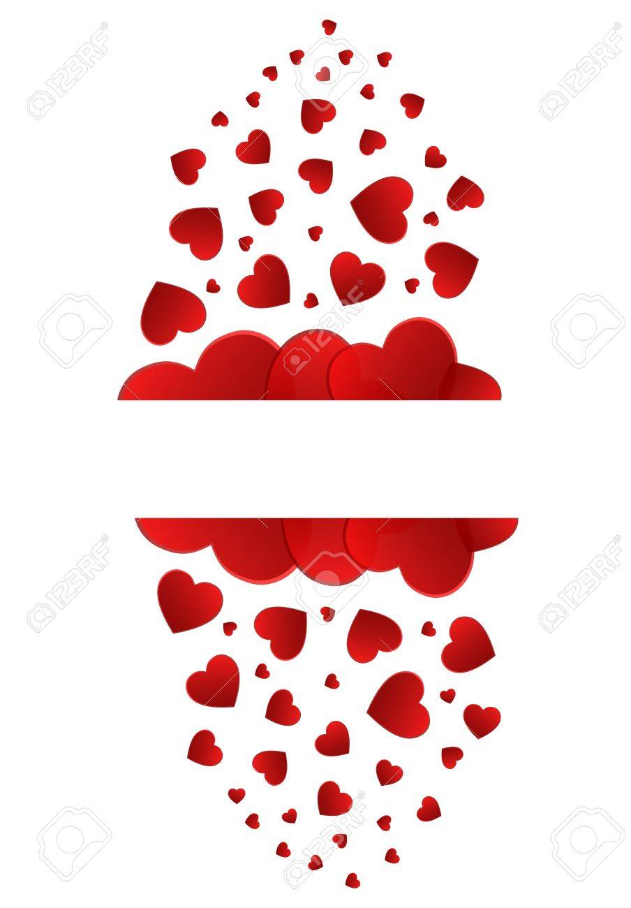 Love Blank Tag With Heart On A White Background Stock Vector - 18625224