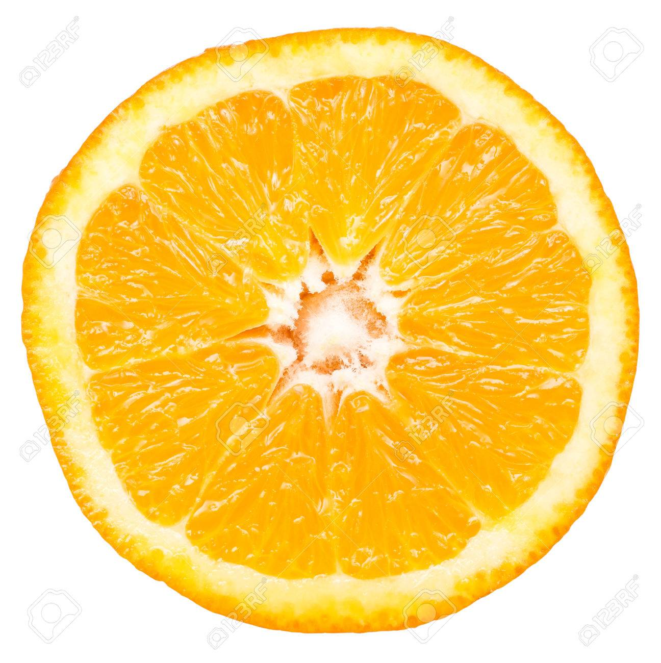 orange slice isolated stock photo picture and royalty free image