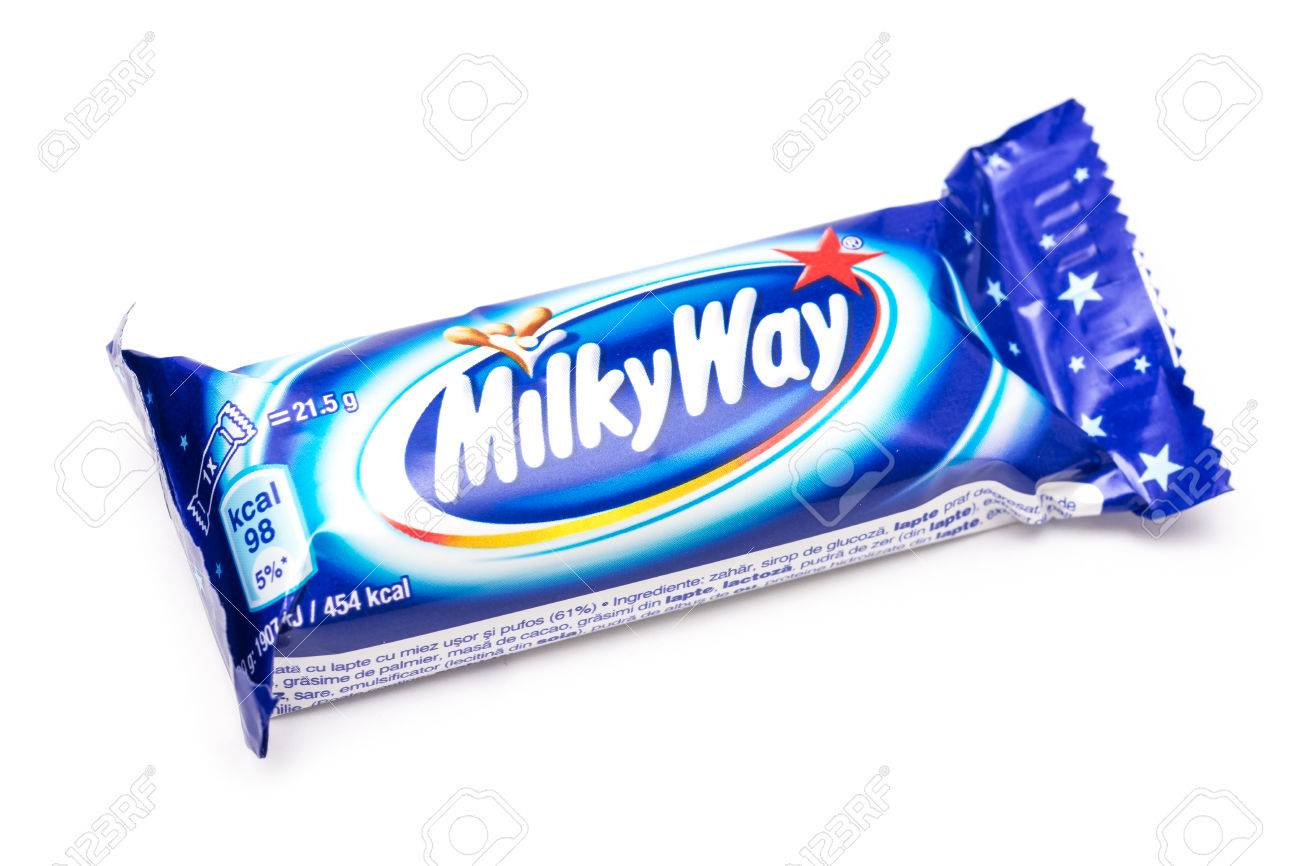 [Jeu] Suite d'images !  24675413-bucharest-romania-december-26-2013-milky-way-chocolate-bar-isolated-on-white-it-is-made-of-chocolate