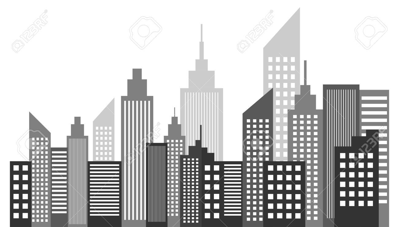 modern metropolis city skyscrapers skyline vector illustration rh 123rf com skyline victory floor plan skyline victory manufactured home