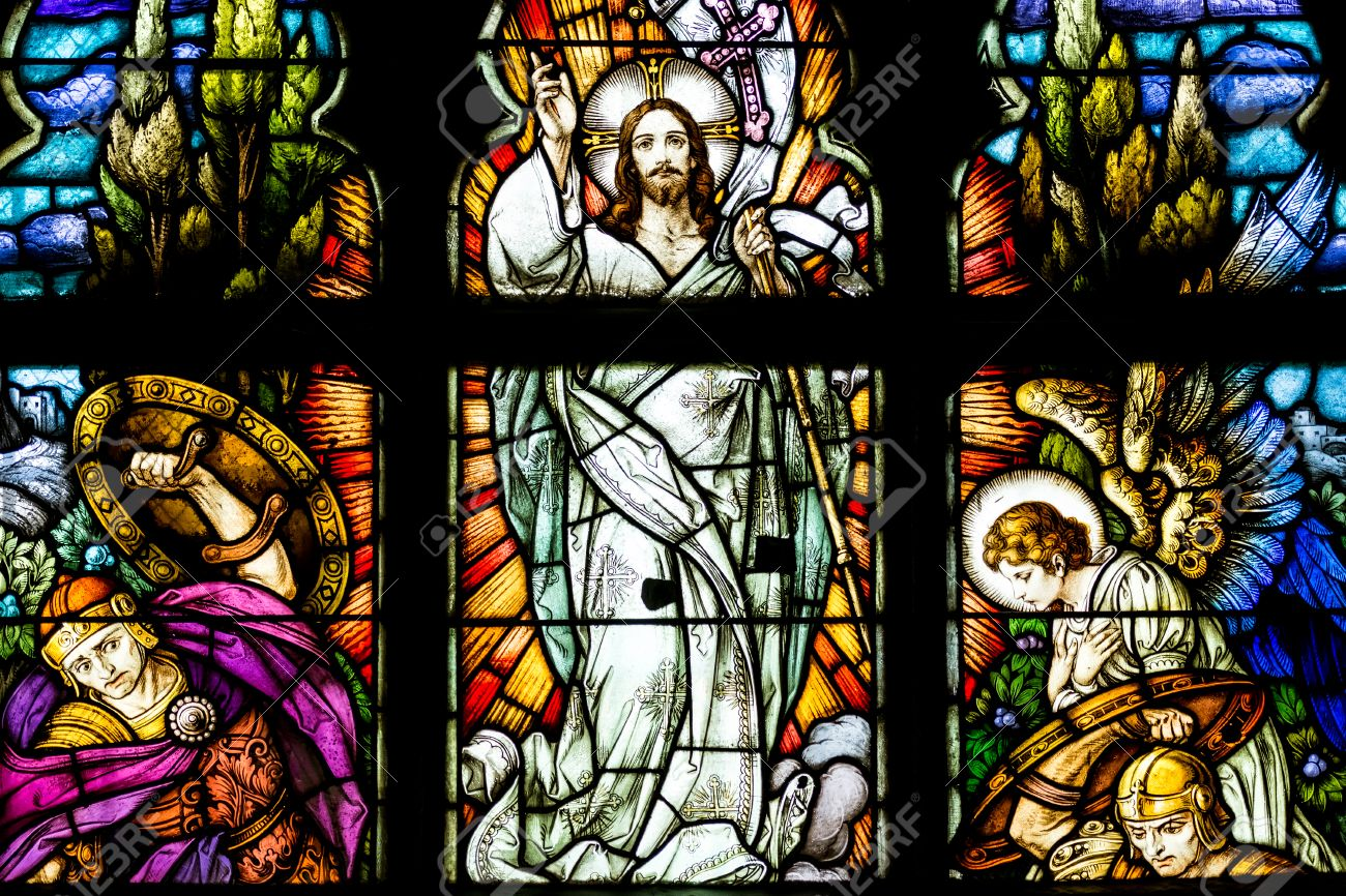 cluj napoca romania august 21 2014 jesus christ resurrection