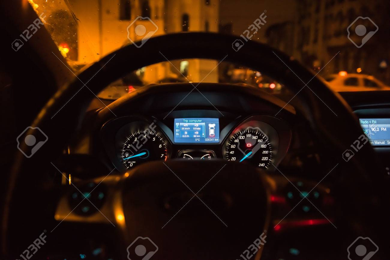 Bucharest Romania January 28 2015 Close Up Of Ford Focus