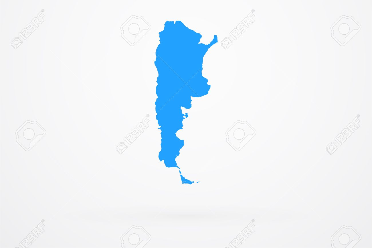 Argentina Country Vector Map Royalty Free Cliparts Vectors And - Argentina map vector