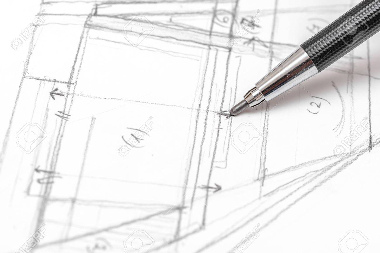 Draw up house plans