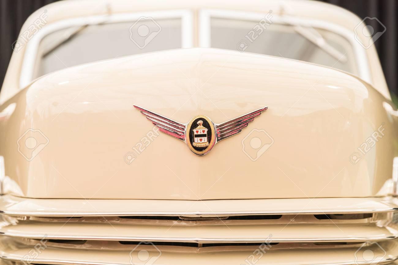 BUCHAREST, ROMANIA - APRIL 25, 2015: Vintage 1937 Cord 812 Phaeton ...
