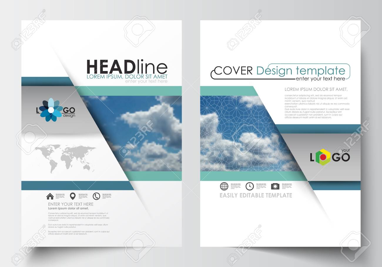 Business Templates For Brochure, Magazine, Flyer, Booklet Or ...