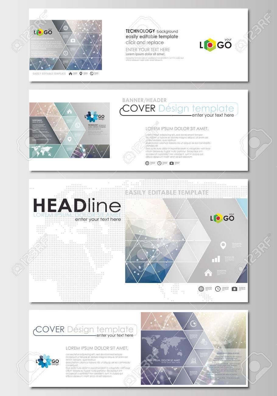 Social media and email headers set modern banners business social media and email headers set modern banners business templates cover design template altavistaventures Images
