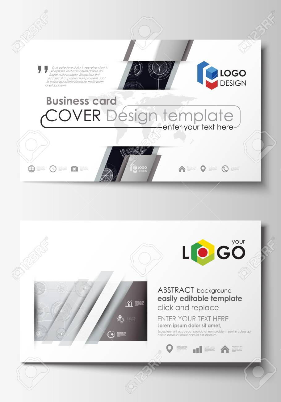 Business card templates easy editable layouts flat style template business card templates easy editable layouts flat style template vector illustration high cheaphphosting Choice Image