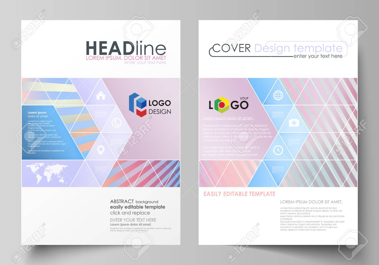 business templates for brochure magazine flyer booklet or