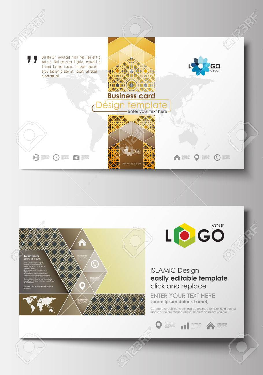 Business card templates cover design template easy editable business card templates cover design template easy editable blank flat layout islamic magicingreecefo Choice Image