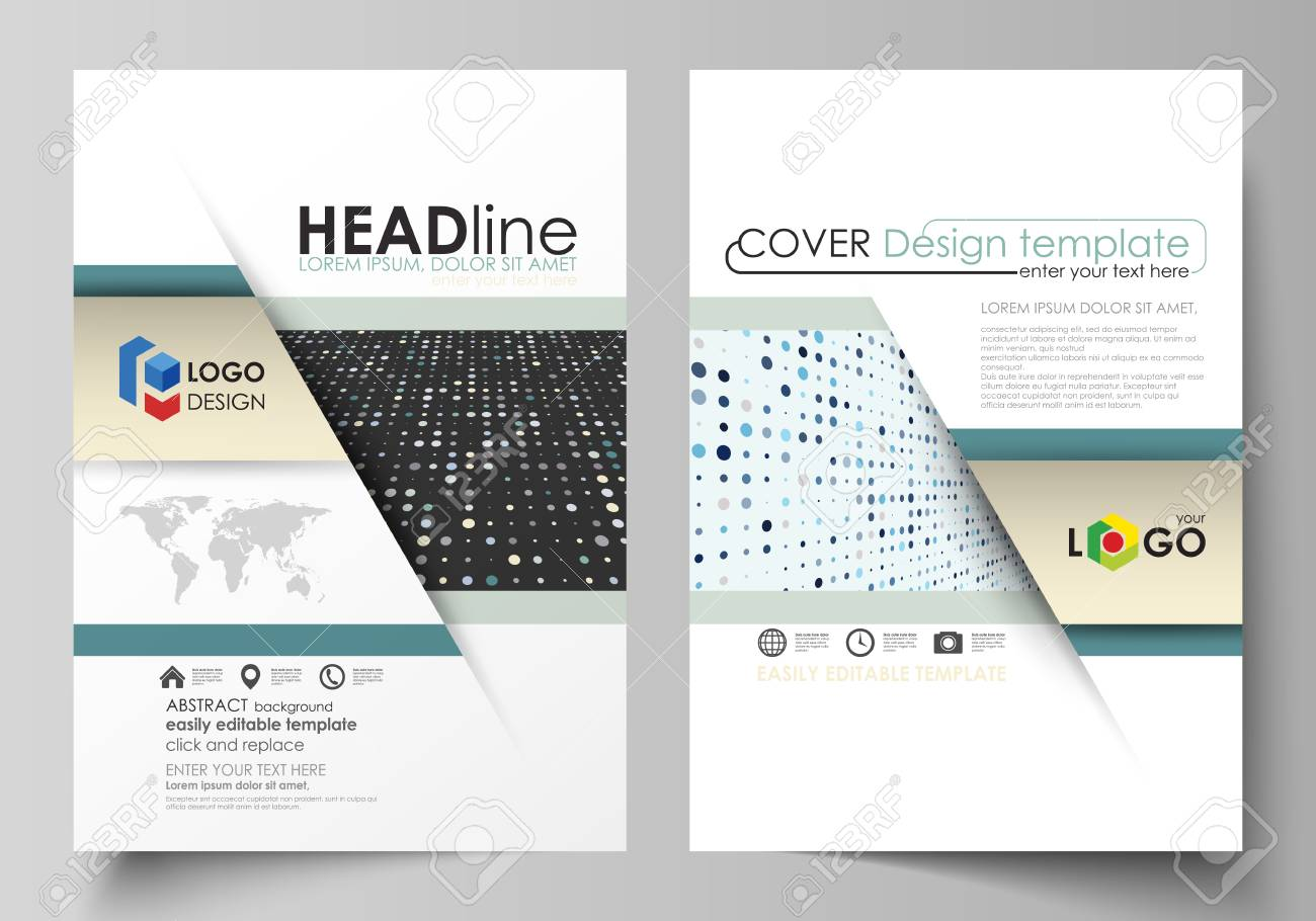 Business Templates For Brochure, Flyer, Booklet, Report. Cover ...