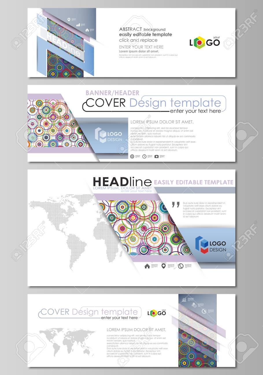 Social media and email headers modern banners business templates social media and email headers modern banners business templates abstract design template flashek