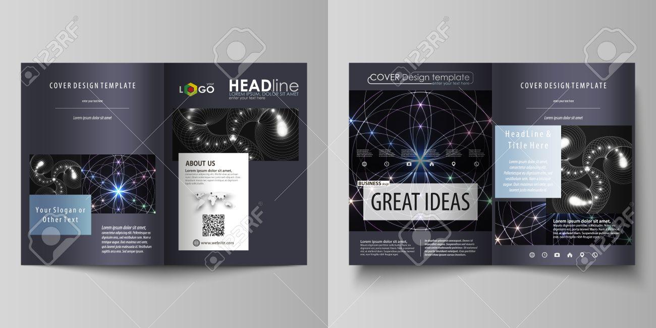 Business Templates For Bi Fold Brochure, Magazine, Flyer, Booklet ...