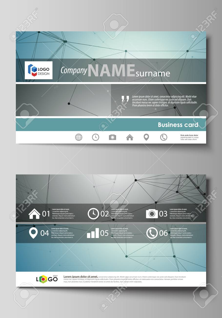 Business card templates easy editable layout abstract vector business card templates easy editable layout abstract vector design template geometric background wajeb Image collections