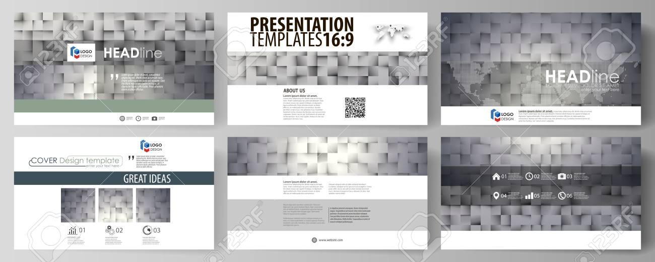Business-Vorlagen Im HD-Format Für Präsentationsfolien. Einfach ...