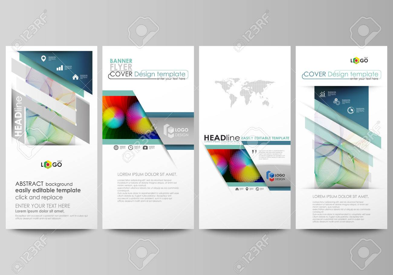 Flyers Set, Modern Banners. Business Templates. Cover Template ...