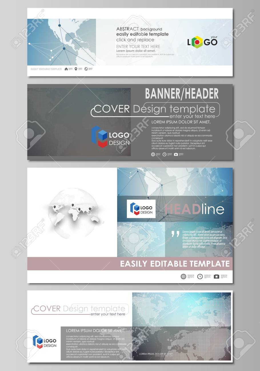 The Minimalistic Vector Illustration Of Editable Layout Of Social
